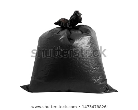 close up of rubbish bag with trash at home Stock photo © dolgachov