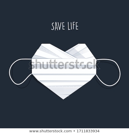 szív · keringési · test · kék · élet · törődés - stock fotó © bluering