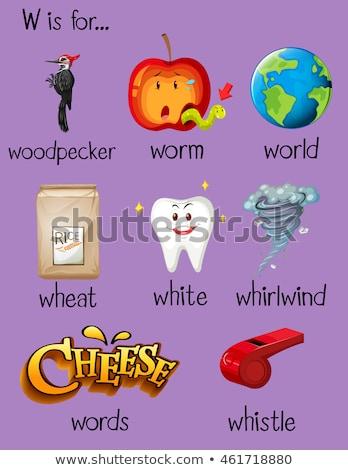List w dzieci dziecko tle sztuki edukacji Zdjęcia stock © bluering