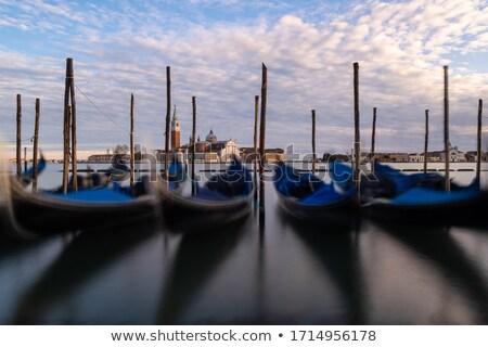 csatolva · csónak · közelkép · égbolt · háttér · nyár - stock fotó © oleksandro