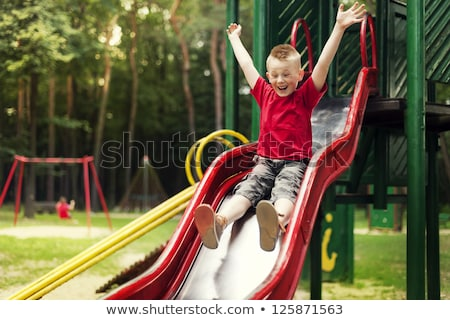 slide for children stock photo © peteer