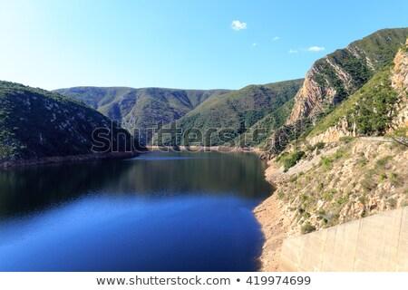 Természet tartalék alacsony szint víz tavasz Stock fotó © markdescande