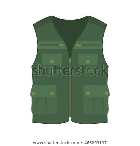 Hunter vest icon Stock photo © angelp