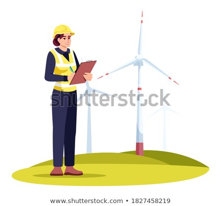 Young Ecologist Character Vector Illustration. Stock photo © robuart