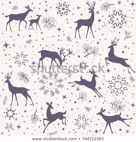 christmas · sneeuwvlok · eps · 10 · goud - stockfoto © beholdereye