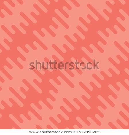 Hullámfoma vonalak végtelen minta piros vektor víz Stock fotó © almagami
