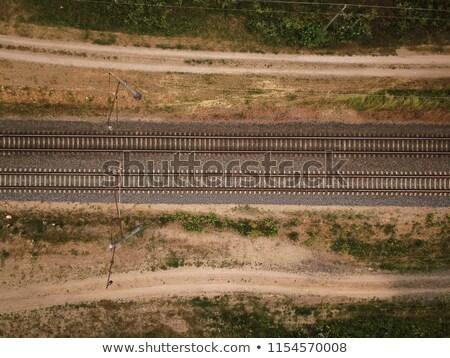 железная · дорога · трек · Top · мнение - Сток-фото © stevanovicigor