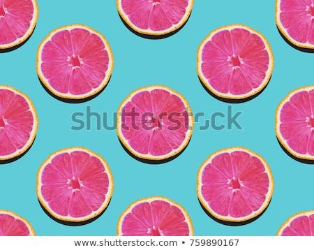 Fruit kunst voedsel stijl vrouwelijke gezicht Stockfoto © Fisher