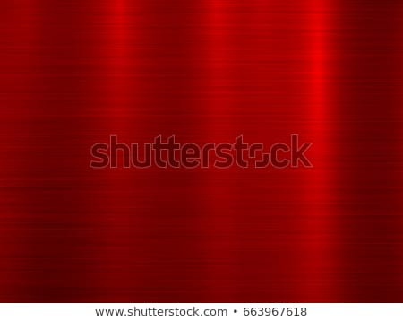 Foto stock: Red Metal Technology Background