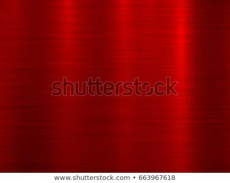 Stockfoto: Rood · metaal · technologie · abstract · cirkel · gepolijst