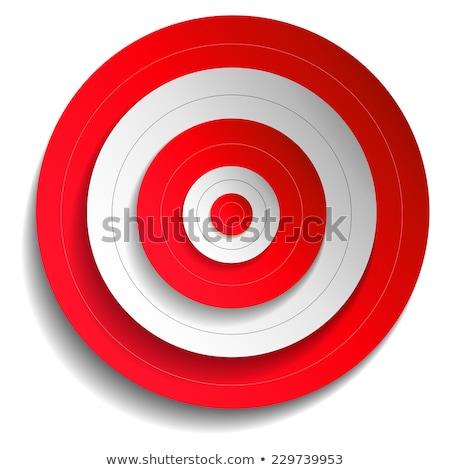 съемки целевой вектора бумаги конкуренция иллюстрация Сток-фото © pikepicture