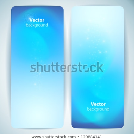 Stockfoto: Blue Water Backgrounds Set