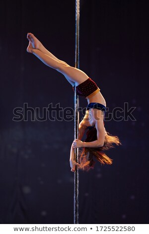 Lányok tánc elegáns nők sport vektor Stock fotó © jossdiim