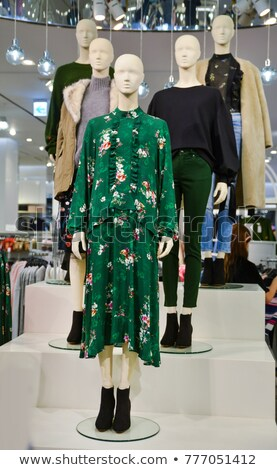 Mannequin dressed in fashionable clothes Stock photo © gsermek