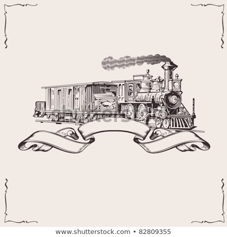 Old railway composition Stock photo © tracer