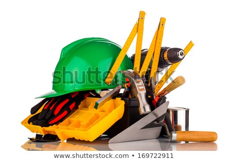 drywall tools isolated stock photo © naumoid