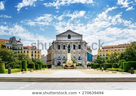 Vieux opéra Madrid Espagne bâtiment Photo stock © benkrut