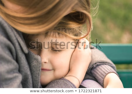 A boy hugging his mum Stock photo © IS2