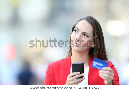 Portrait Of Girl Looking Angry stock photo © monkey_business
