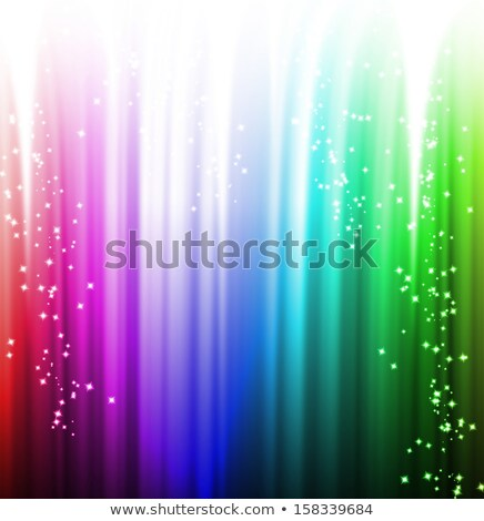 Hollywood arco iris color estrellas mostrar manera Foto stock © romvo