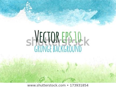 Aquarel voorjaar banner vector abstract Stockfoto © kostins