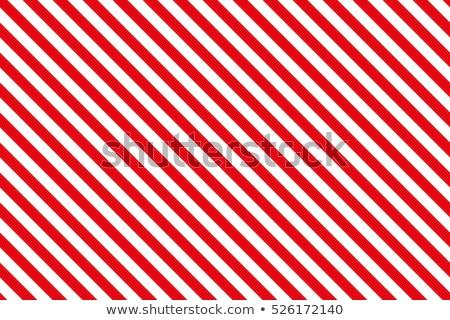 Piros csíkok csíkos átló minta karácsony Stock fotó © kurkalukas