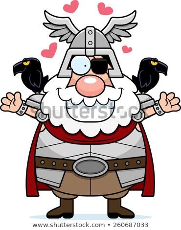Cartoon knuffel illustratie klaar geven liefde Stockfoto © cthoman