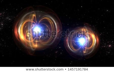 particella · fisica · digitalmente · abstract · crash · distribuzione - foto d'archivio © lightsource
