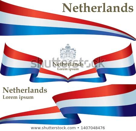 Kingdom of the Netherlands flag Stock photo © grafvision
