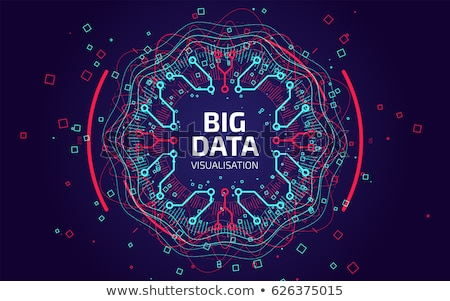 Groot gegevens engineering ingenieurs operatie Stockfoto © RAStudio