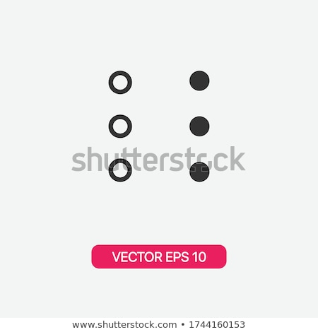 more options dot button web menu icon concept web buttons vector illustration flat design style stock photo © kyryloff