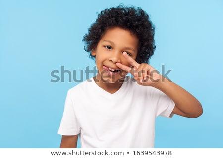 Surprised Little Booger Stock photo © cthoman