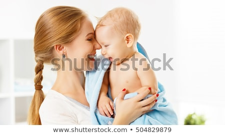 матери · ребенка · саду · женщину · семьи · ребенка - Сток-фото © dolgachov
