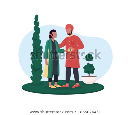 diwali vector simple holiday web banner isolated flat cartoon illustration stock photo © pikepicture