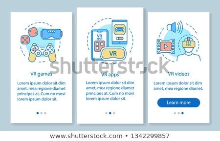 Video game walkthrough concept vector illustration. Stock photo © RAStudio