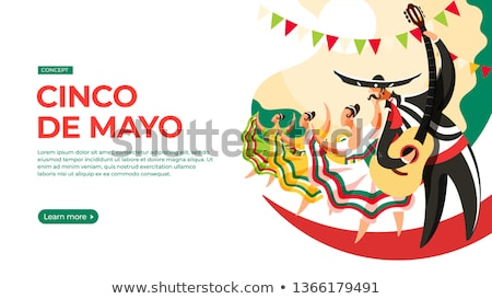 Cinco de mayo, Mexican fiesta day concept. Stock photo © furmanphoto