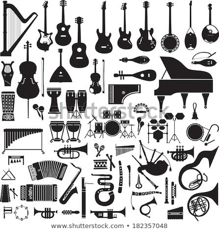 drums · vector · trommel · uitrusting · partij · achtergrond - stockfoto © robuart