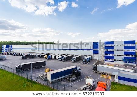 логистика склад распределение центр доставки судоходства Сток-фото © soleilc