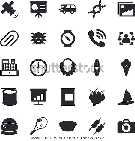 Astronaut Equipment Onboarding Elements Icons Set Vector Stock photo © pikepicture