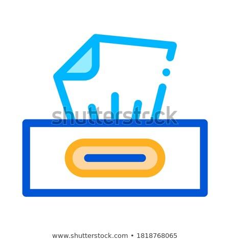 Sécher paquet icône vecteur illustration Photo stock © pikepicture