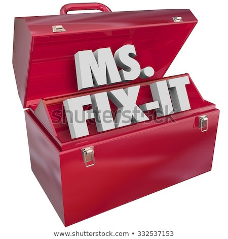 Ms. Fix It Stock photo © jsnover