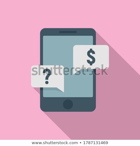 Bitcoin érme hdd pénz okostelefon érmék Stock fotó © olira