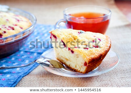 Cowberry and whortleberry on plate Stock photo © RuslanOmega