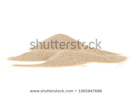 Piles of sand Stock photo © deyangeorgiev