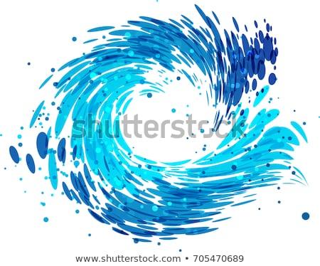 水分 · 波 · 単純な · クリーム · 浅い - ストックフォト © ecelop