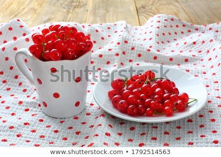 Saboroso suculento marrom pires maduro vermelho Foto stock © lypnyk2