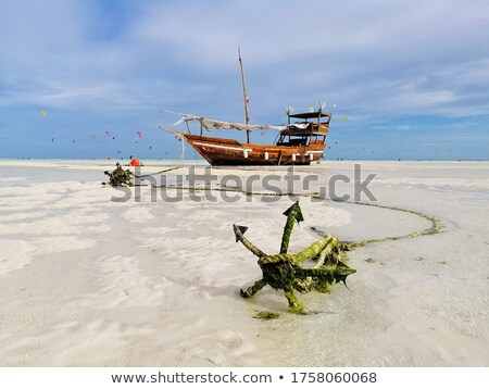 Anchor in Zanzibar stock photo © gant