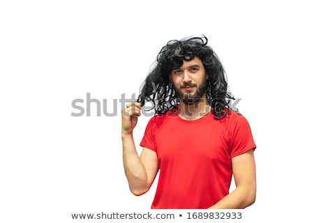 Portrait of a young man with a shaggy haircut Stock photo © photography33