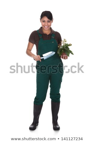 Female worker with pliers. Stock photo © photography33