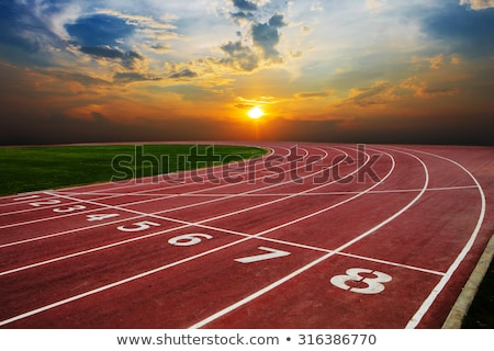 гонка · спортивных · трек · спорт · группа - Сток-фото © alvinge